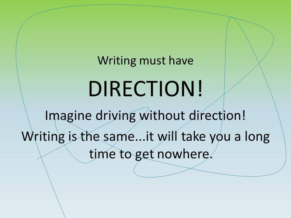 We all need a little GPS for writing.The 6+1 Writing Traits are your writing GPS.