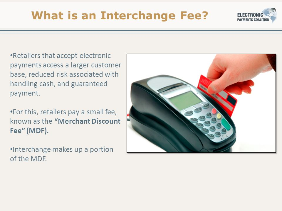 What is an Interchange Fee.