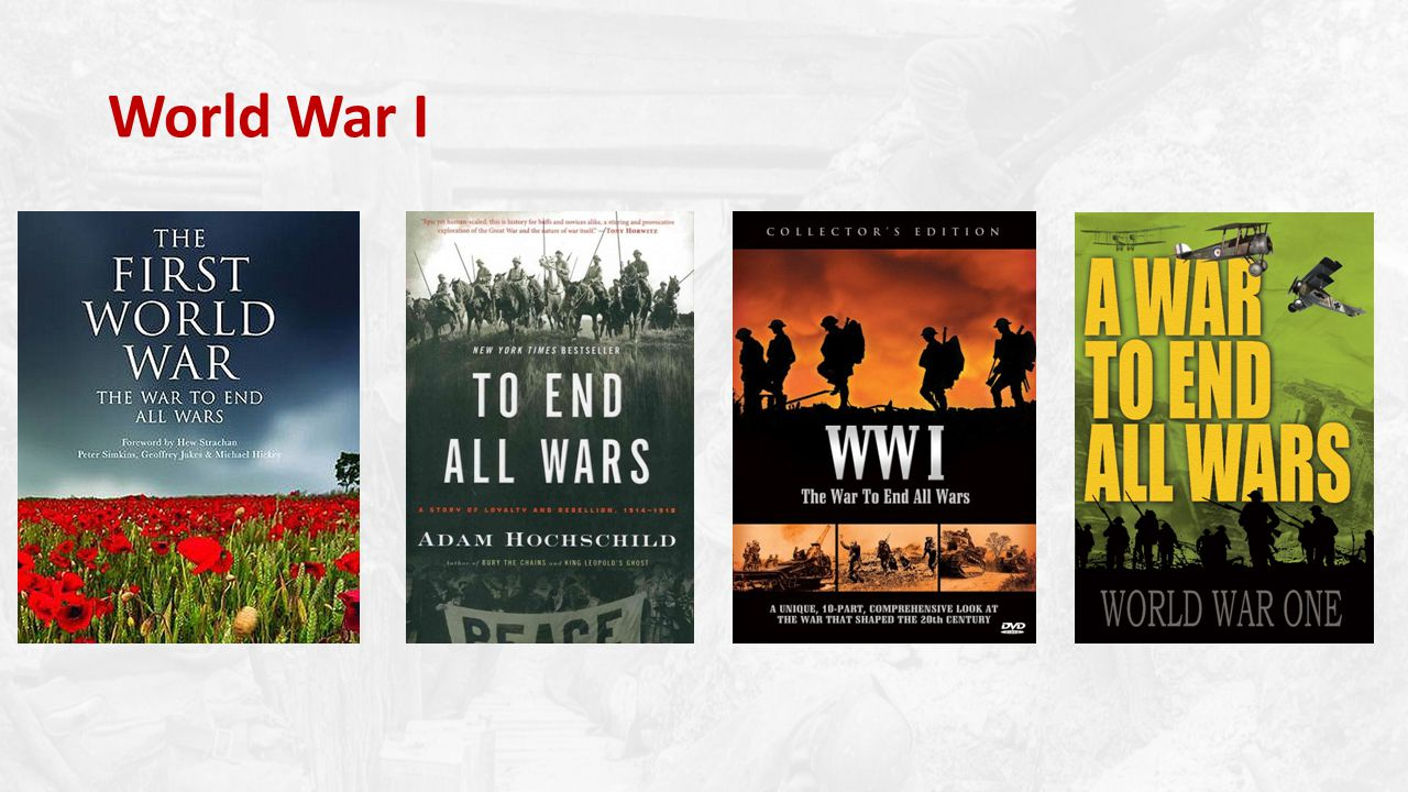 I can identify the causes of WWI.