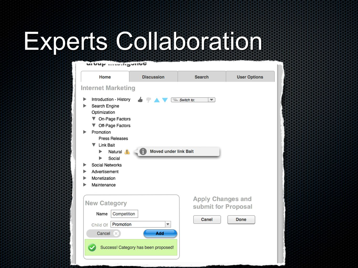 Experts Collaboration