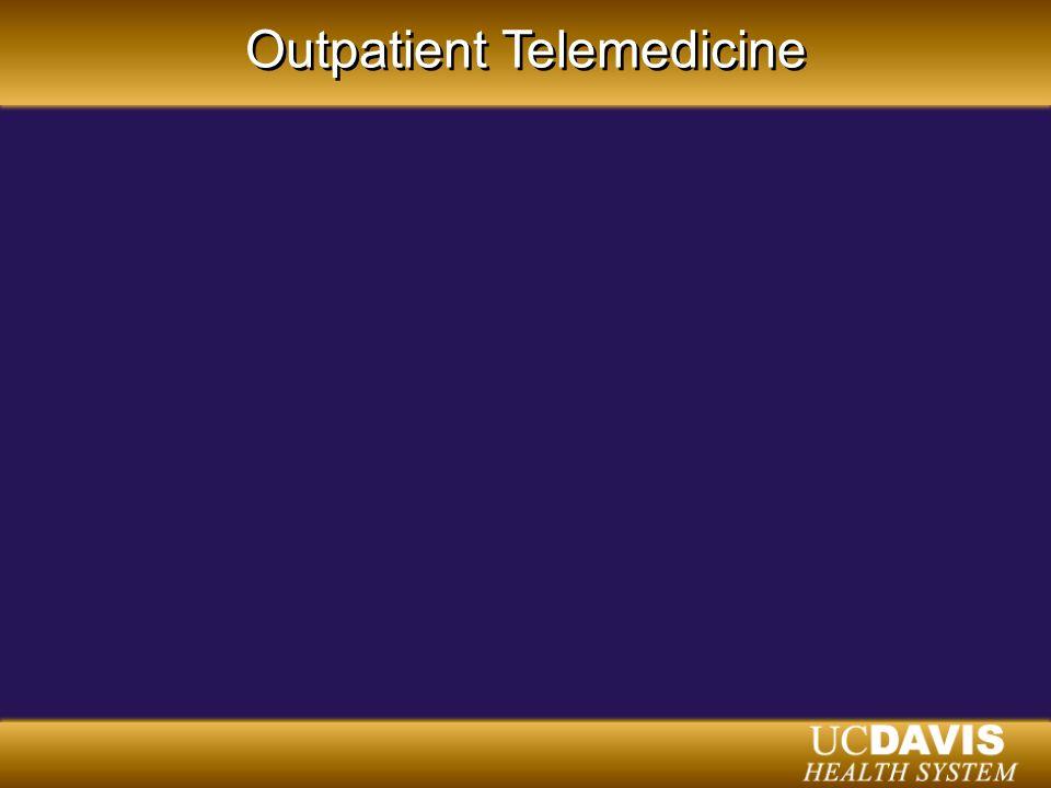 Outpatient Telemedicine