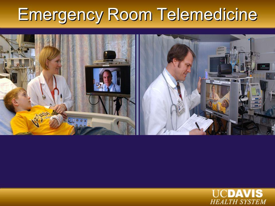 Emergency Room Telemedicine
