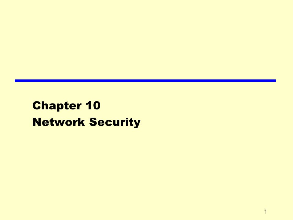 22 IP Security – Basics zIPSec zExample applications ySecure branch office connectivity over Internet ySecure remote access over Internet yExtranet and intranet connectivity yEnhanced electronic commerce security