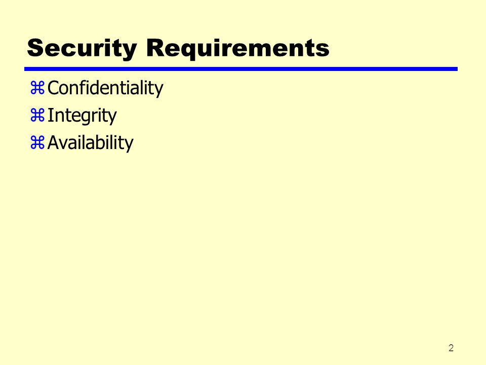 13 Authentication – Without Encryption zAdvantages of authentication without encryption yEncryption is slow yEncryption hardware expensive yEncryption hardware optimized to large data yAlgorithms covered by patents yAlgorithms subject to export controls (from USA) zAuthentication tag generated and appended to each message