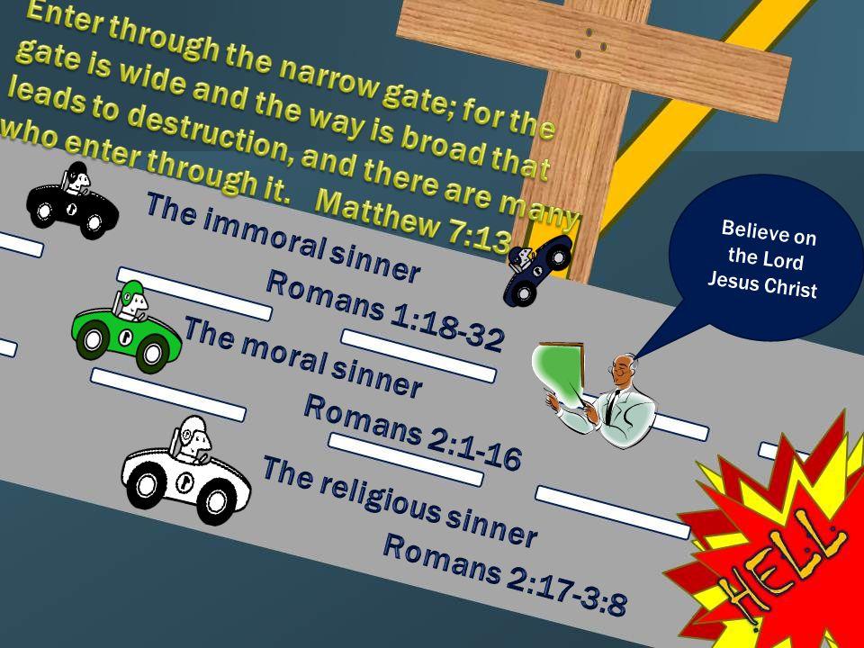 All Are Under Sin E.Romans 3:19-20 – Let's go to law school.