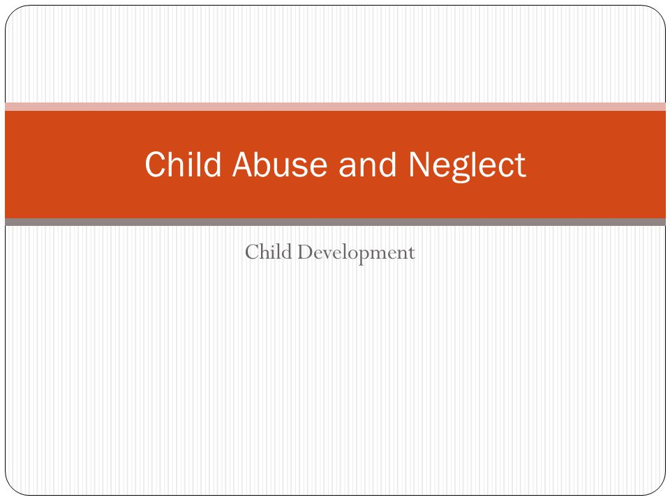 Essay about child abuse and bullying