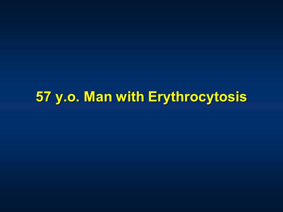 57 y.o. Man with Erythrocytosis