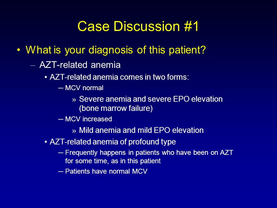 Case Discussion #1 What is your diagnosis of this patient.