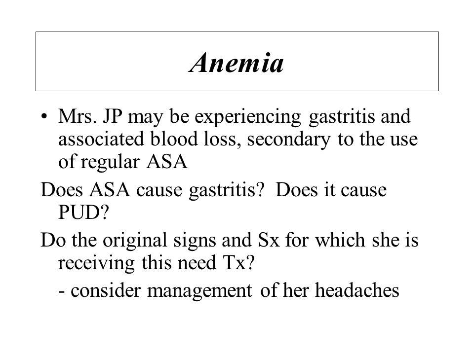 Anemia Mrs.
