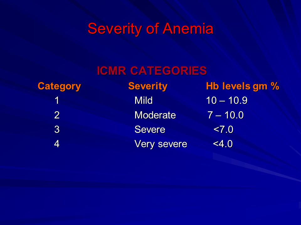 Physiological anemia of pregnancy Blood volume ↑45% Plasma vol ↑55% RBC vol ↑30% HCt ↓30% Hb ↓10.5-11