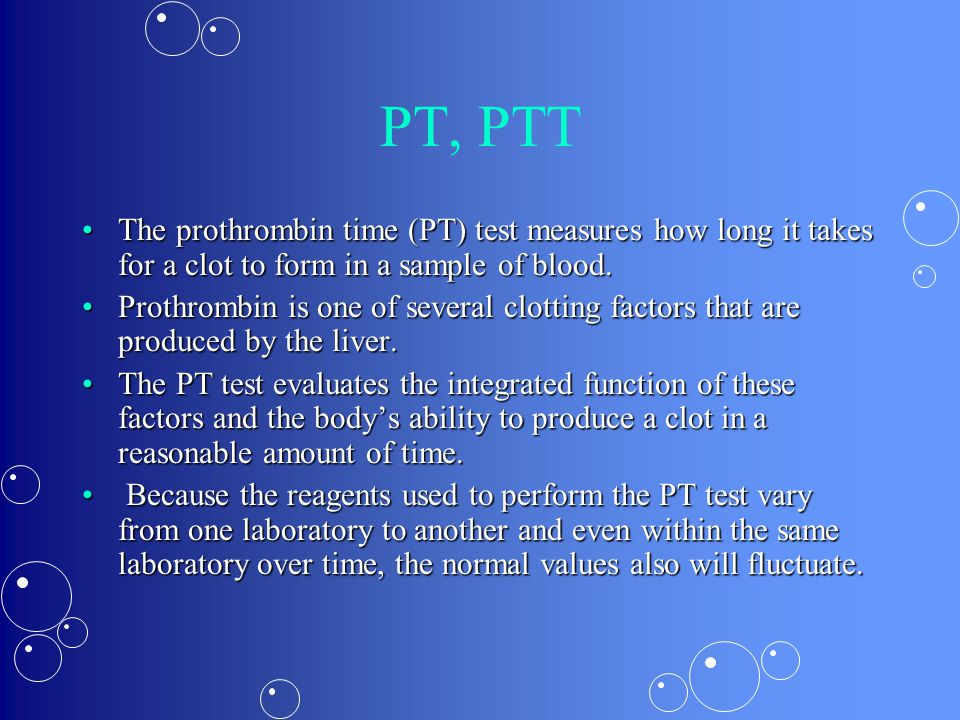 Diagnosis Above HistoryAbove History Suspected by Labs:Suspected by Labs: –Platelet level: Normal – PTT: Prolonged (elevated number) > 60 Confirmed by genetic testing for missing factorConfirmed by genetic testing for missing factor