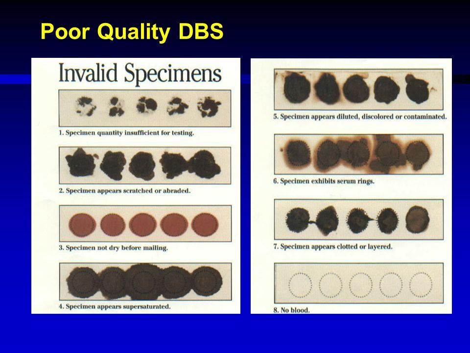 Poor Quality DBS