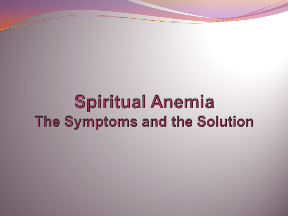 Anemia: The Weak and Sickly Illness Anemia is a blood condition involving the abnormal reduction of red blood cells resulting in iron deficiency, oxygen deficiency, weakness, dizziness, digestive disorders, etc.