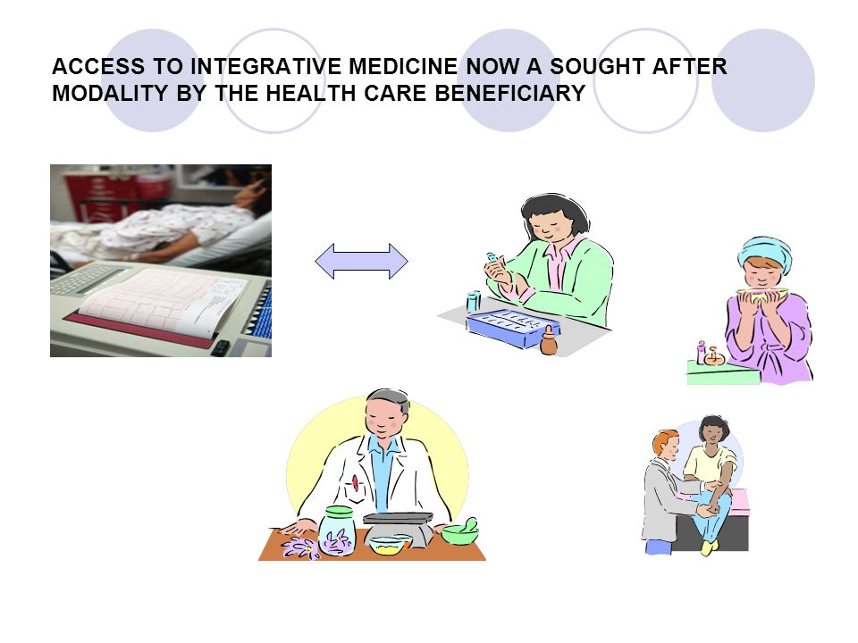 ACCESS TO INTEGRATIVE MEDICINE NOW A SOUGHT AFTER MODALITY BY THE HEALTH CARE BENEFICIARY