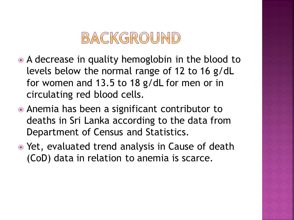  Reveal the trend s in deaths due to anemia in Sri Lanka from 1993 to 2006  Compare the gender distribution in deaths due to anemia