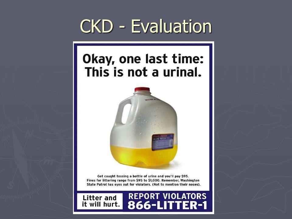 CKD - Evaluation