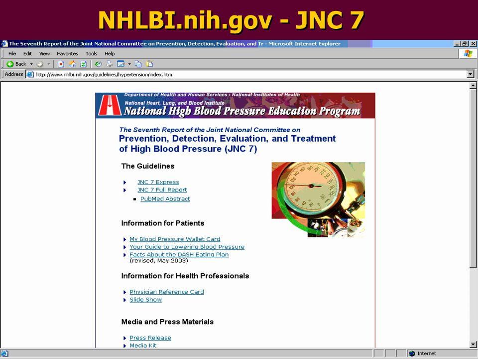 NHLBI.nih.gov - JNC 7