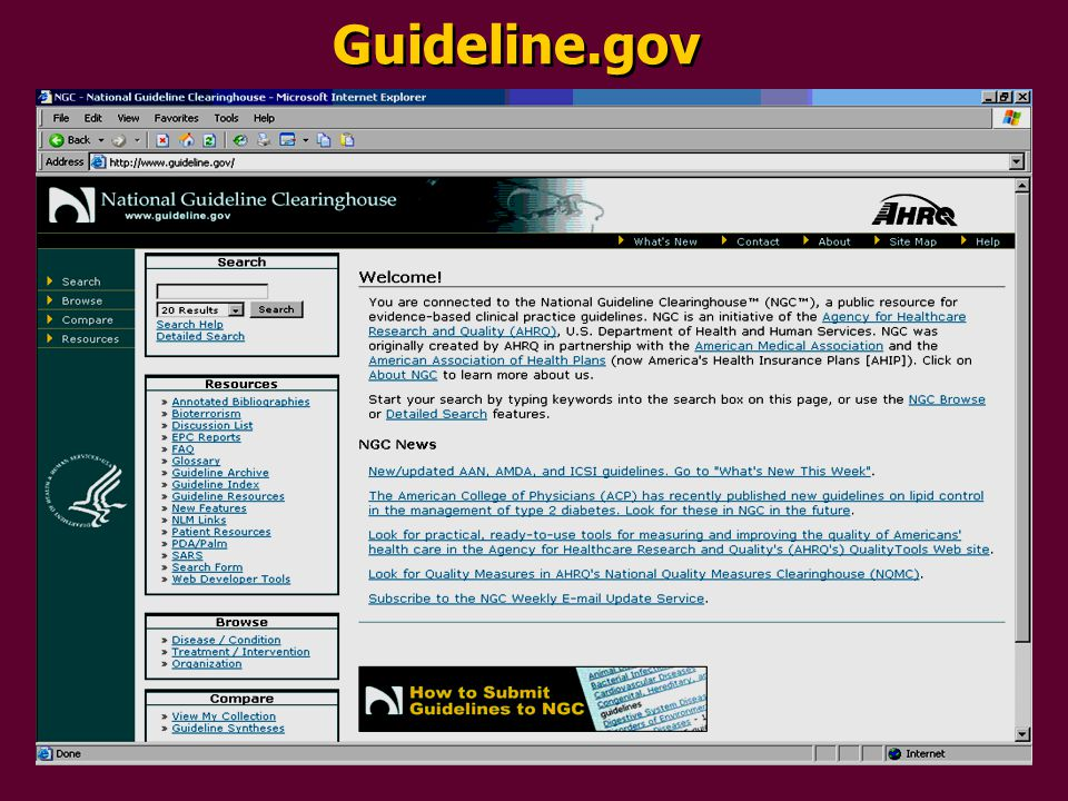 Guideline.gov