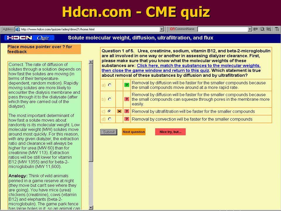 Hdcn.com - CME quiz