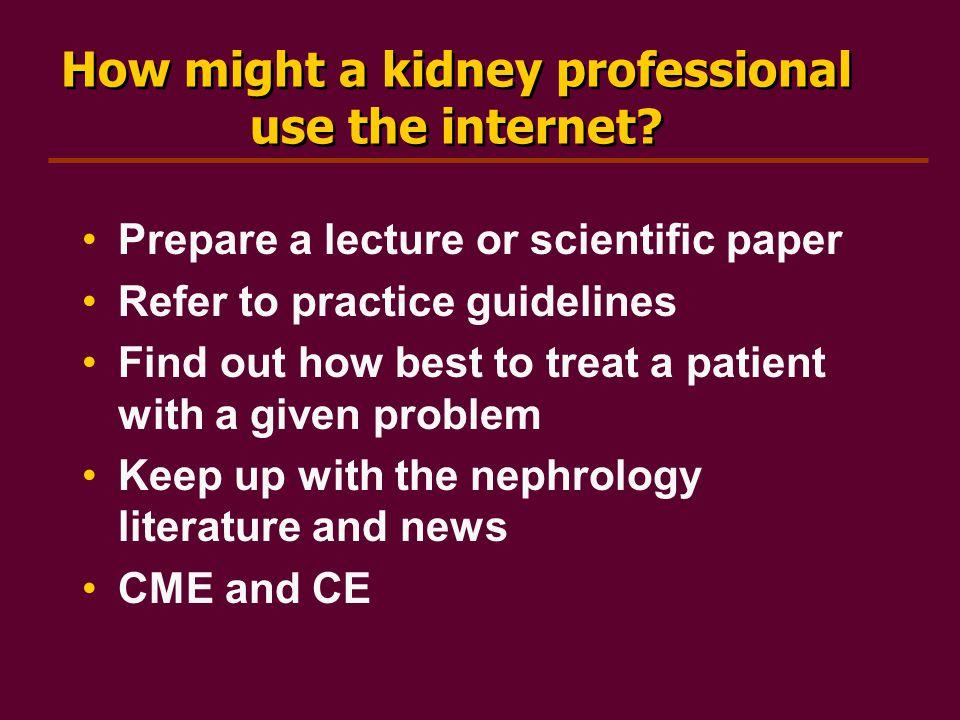 KLS – NKF Kidney Learning System