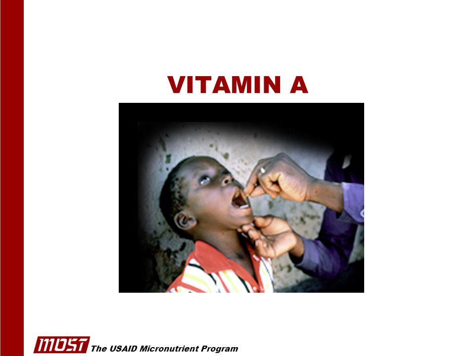 The USAID Micronutrient Program © Royalty Free Clip Art VITAMIN A