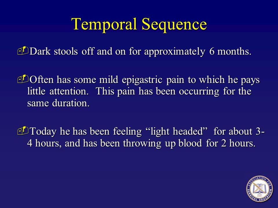 Gastrointestinal Bleeding  Melena is usually the result of severe upper GI bleeding.