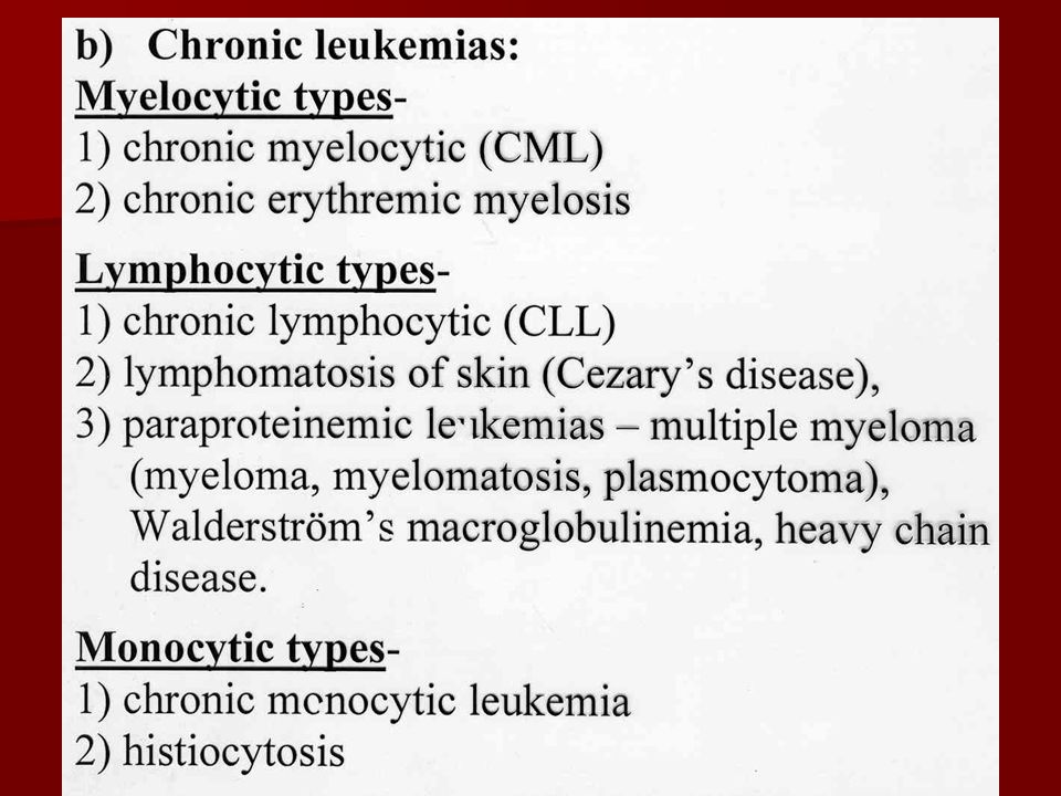 Acute lymphoblastic leukemia (ALL) Lymphoblasts are very immature cells with large nuclei that contain nucleoli.