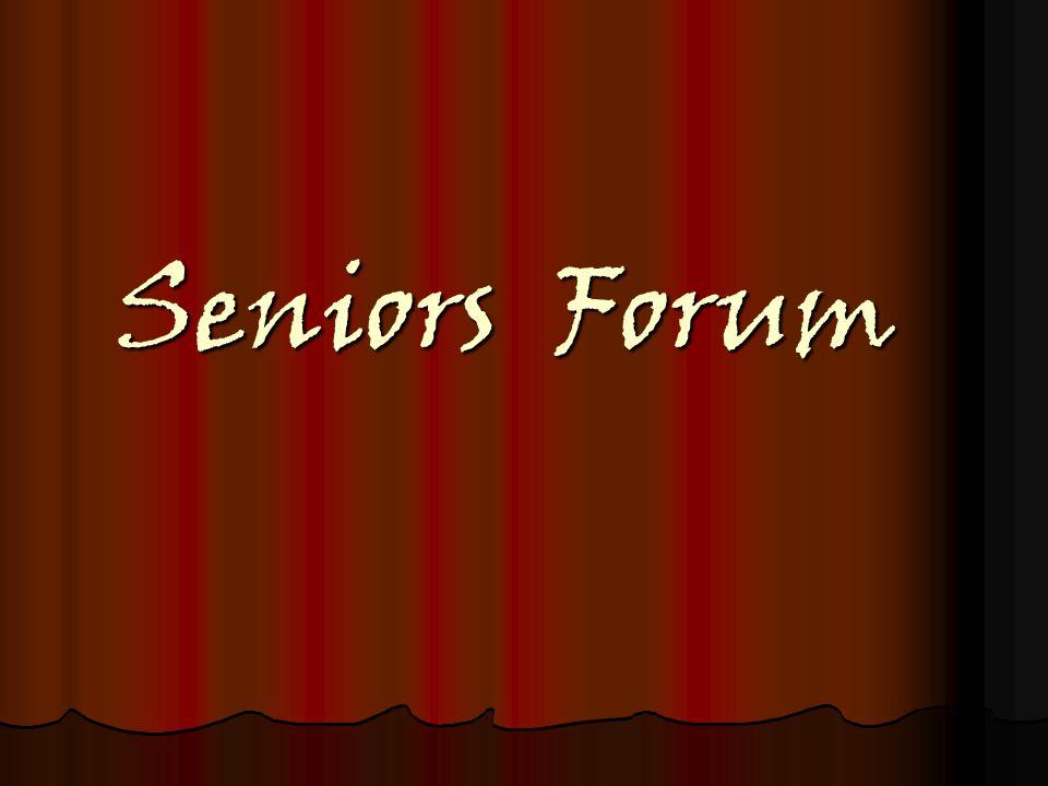 Seniors Forum