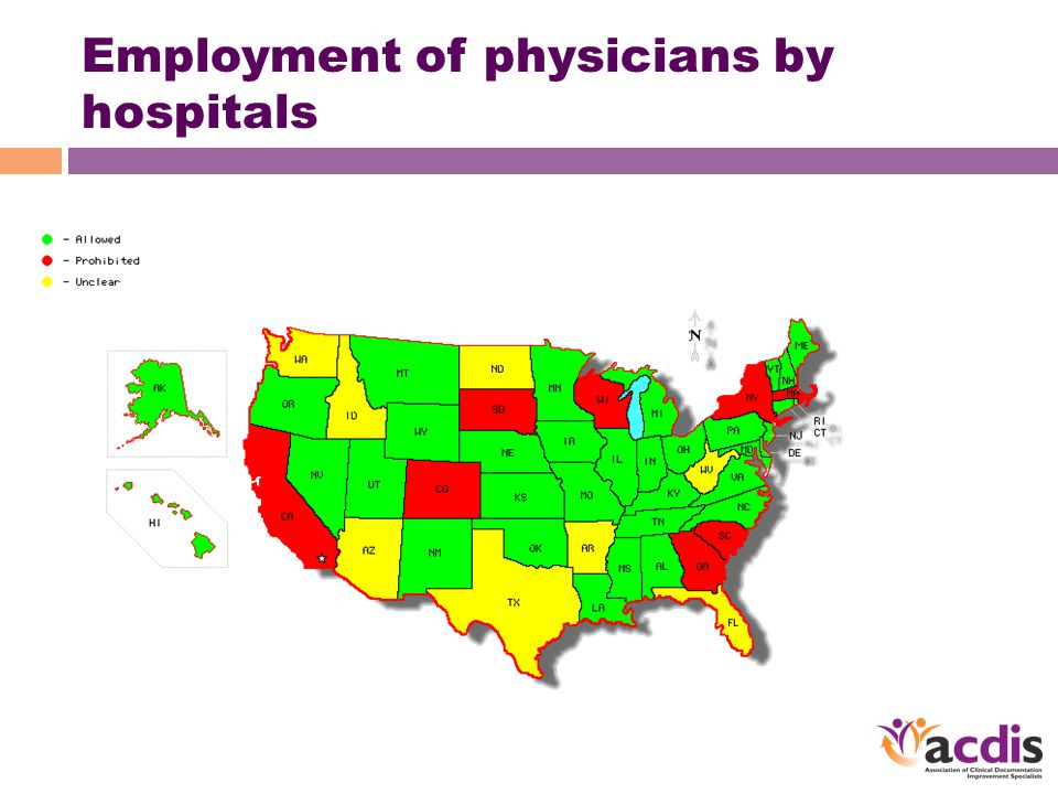 Employment of physicians by hospitals