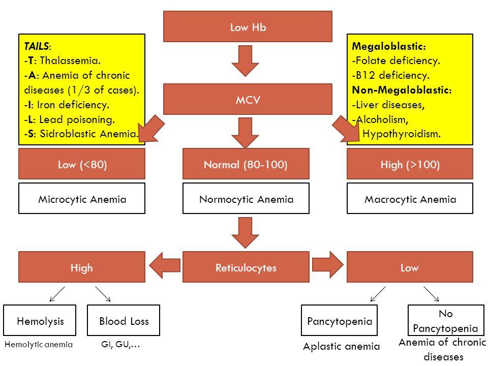 Megaloblastic: -Folate deficiency. -B12 deficiency.
