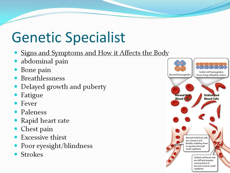 Genetic Specialist Prenatal Tests Blood tests are the only option.