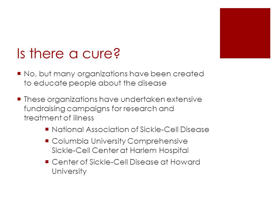 Overview  http://video.about.com/rarediseases/Sickle-Cell- Disease.htm http://video.about.com/rarediseases/Sickle-Cell- Disease.htm WATCH THE VIDEO.