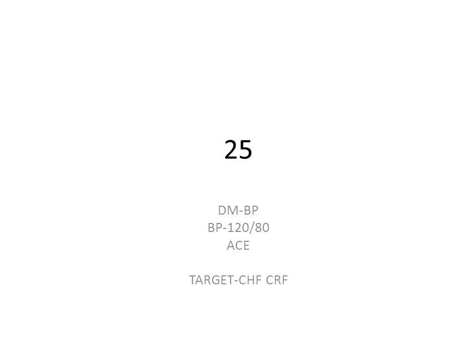 25 DM-BP BP-120/80 ACE TARGET-CHF CRF