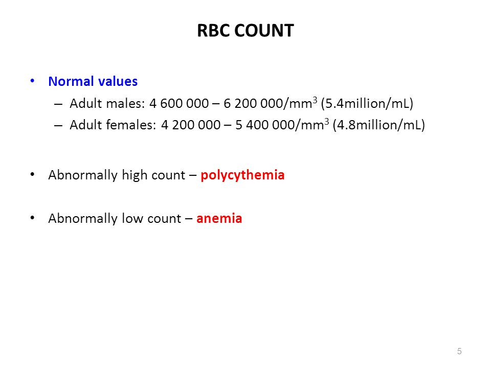 HEMOGLOBIN: Concentrations 16 RBC Plasma MCHC = Hb amount / Volume of packed RBC Hb concentration = Hb amount (g)/Volume of whole blood (dL, L ) Concentration per unit volume of whole blood Males – 16.0±2.0 g/dL Females – 14.0±2.0 g/dL Mean corpuscular Hb concentration - concentration of Hb per unit packed cell volume Normal range: 31-37 g/dL packed cells ↓ value – hypochromia (i.e., Hb deficiency) ↑ value – hyperchromia (i.e., spherocytosis) Calculation: MCHC = Hb concentration x 100 Htc Sample calculation: [Hb] = 14.5 g/dL, Htc = 45 mL/dL MCHC = (14.5/45) x 100 = 32.2 g/dL packed cells