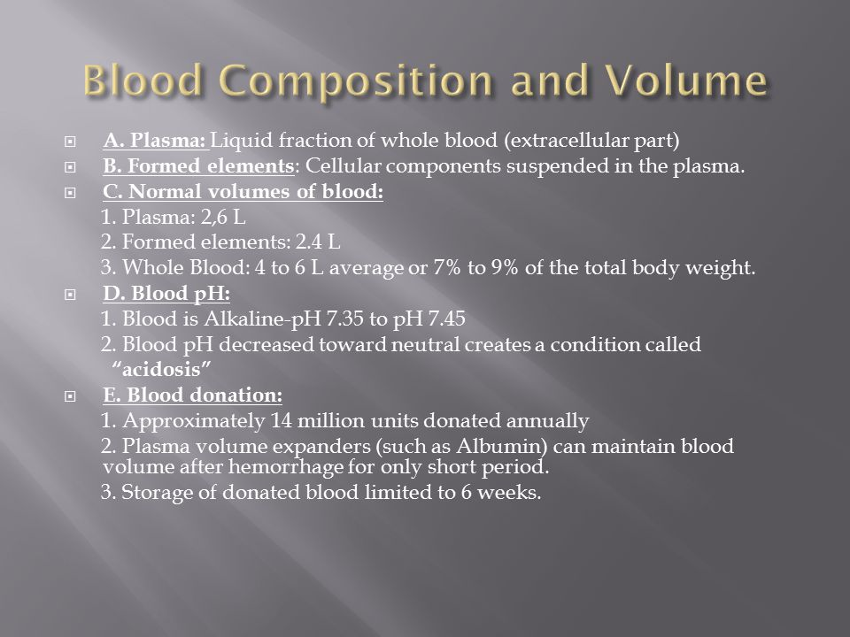 Platelets:  1.play essential role in blood clotting a.