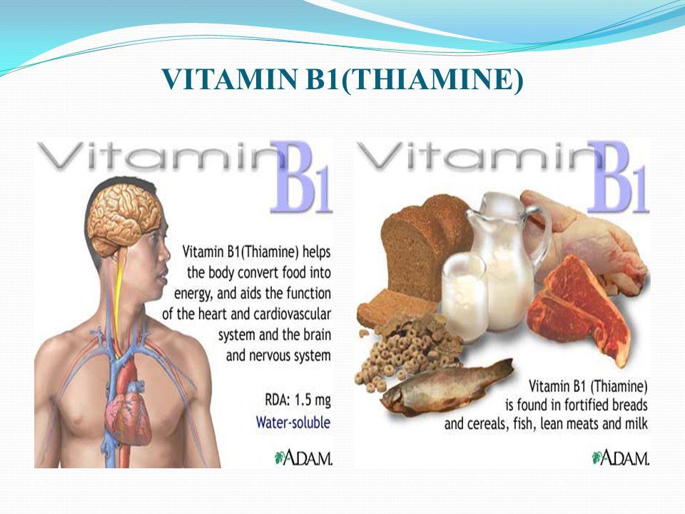 VITAMIN B1(THIAMINE)
