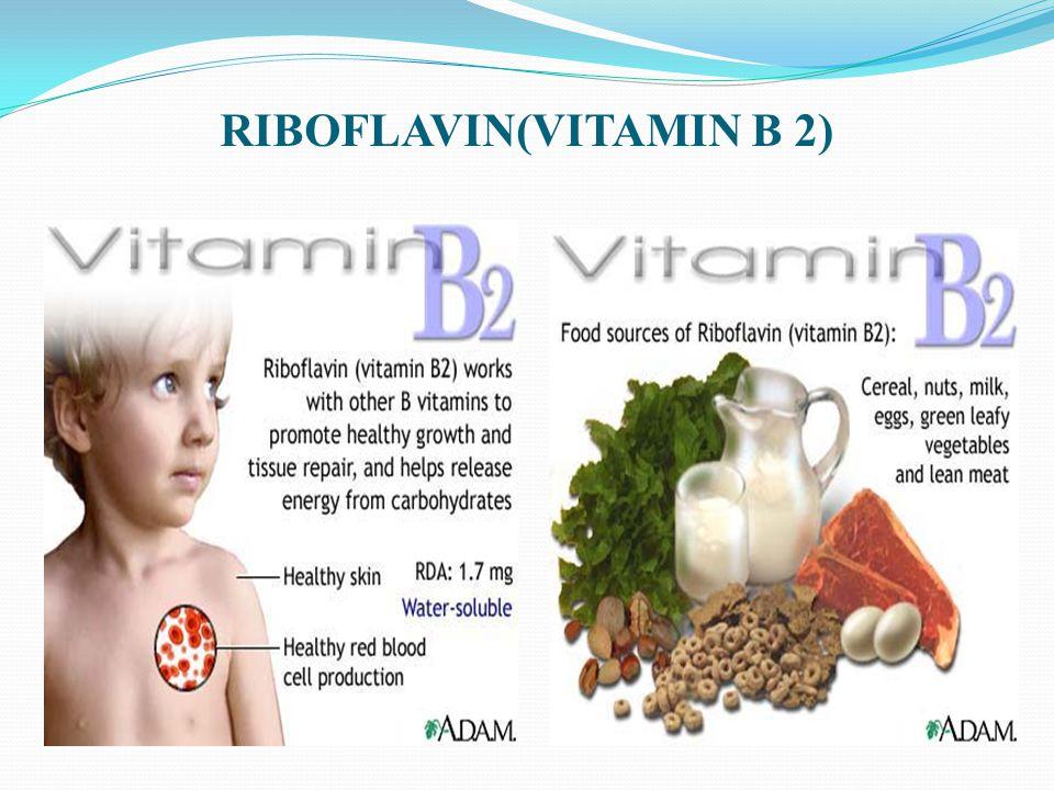 RIBOFLAVIN(VITAMIN B 2)