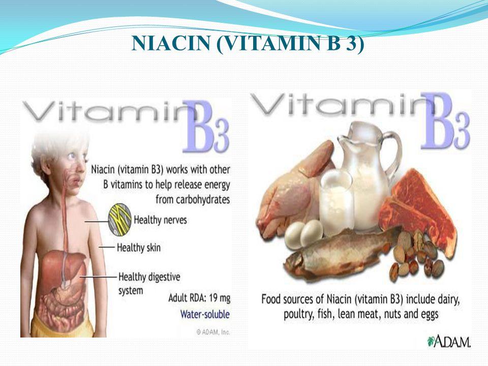 NIACIN (VITAMIN B 3)
