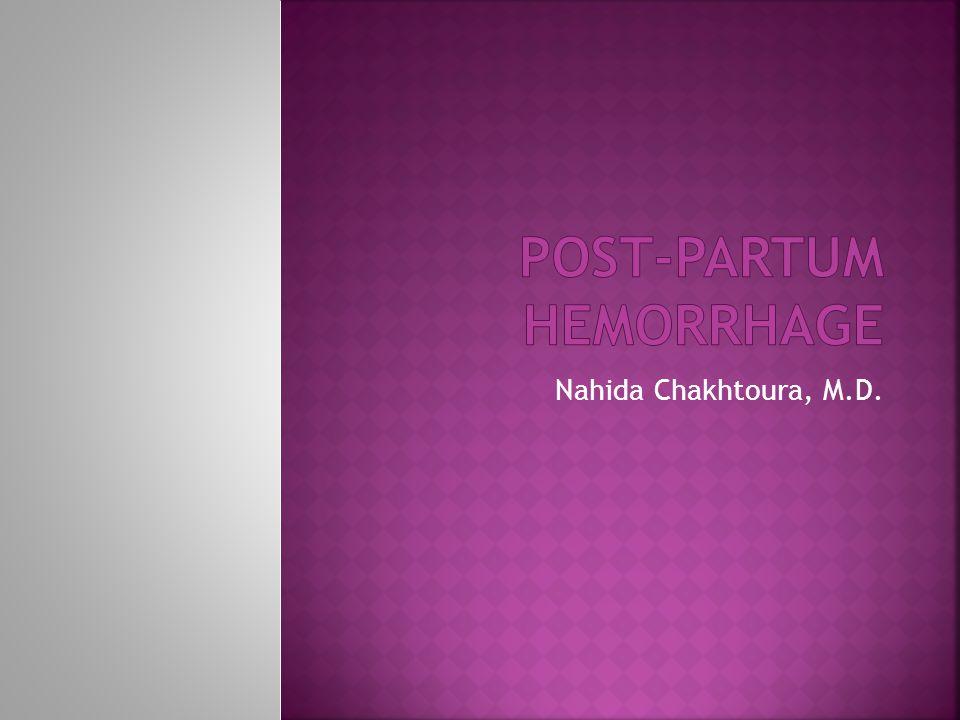 Nahida Chakhtoura, M.D.