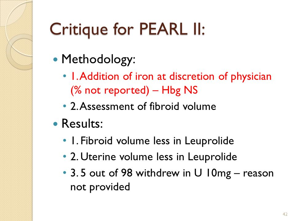Critique for PEARL II: Methodology: 1.