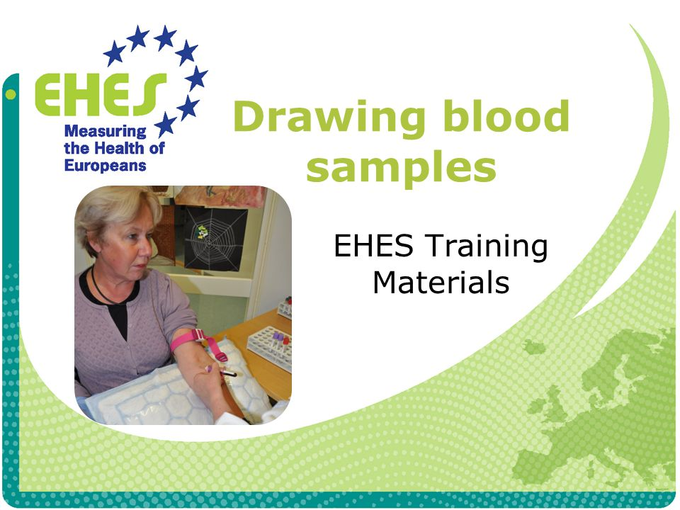 Exclusion criteria Blood samples are not taken, if participant Has a chronic illness which restricts taking blood samples Has anemia (Hb below 10 g/l) Doubts about the blood volume to be taken Refuses