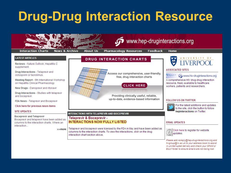 Drug-Drug Interaction Resource