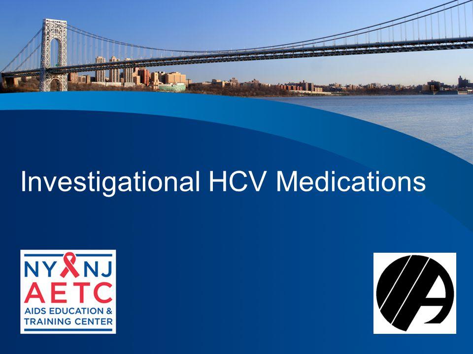 Investigational HCV Medications