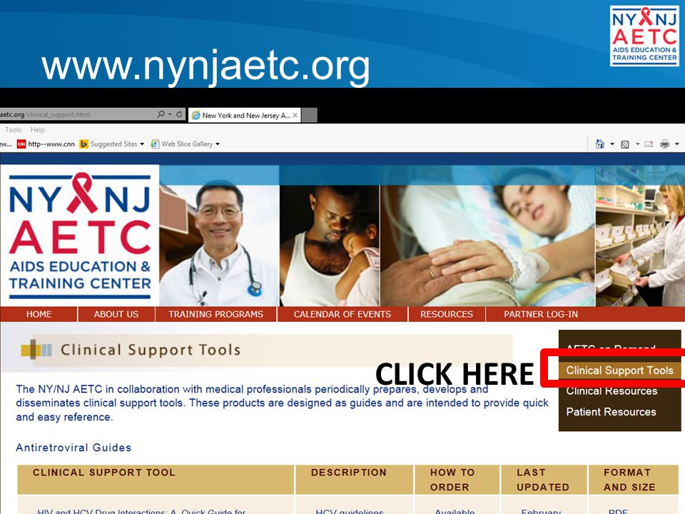 www.nynjaetc.org CLICK HERE