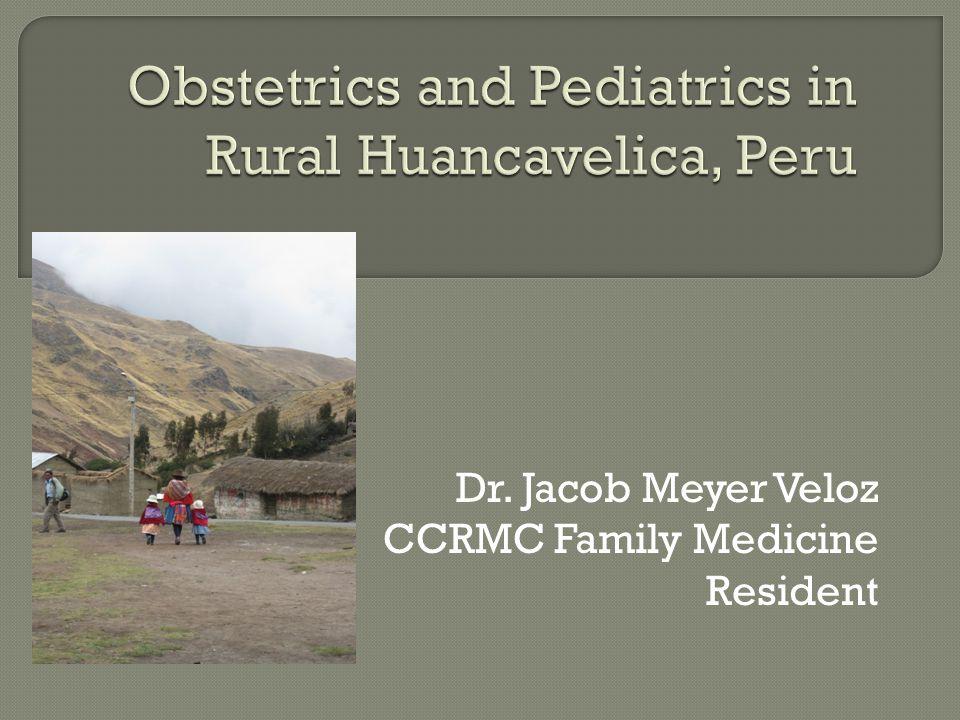 Dr. Jacob Meyer Veloz CCRMC Family Medicine Resident