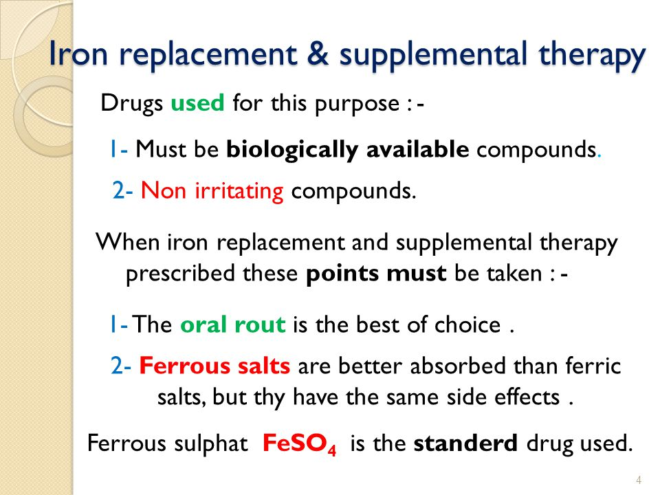 Iron is protein precipetant and can be irritant to the G.I.