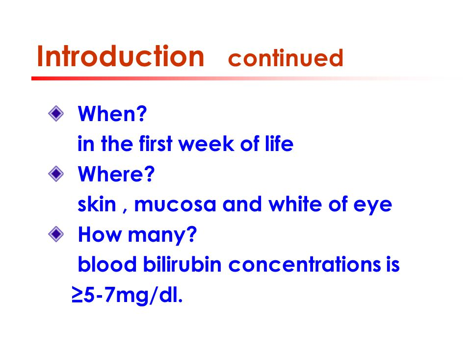 Case analysis continued Lab tests: Hgb:13g/dl, reticulocyte count : 7% Blood smear: nucleated RBC Blood type: A, Rh-positive Serum bilirubin: 12.9mg/ml Direct Coomb's test: weakly positive Question: what's the risk factor ?
