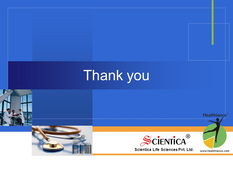 Scientica Life Sciences Pvt. Ltd. Thank you