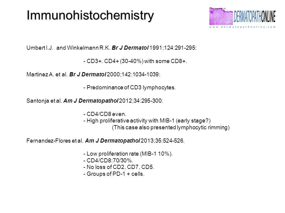 Immunohistochemistry Umbert I.J. and Winkelmann R.K.