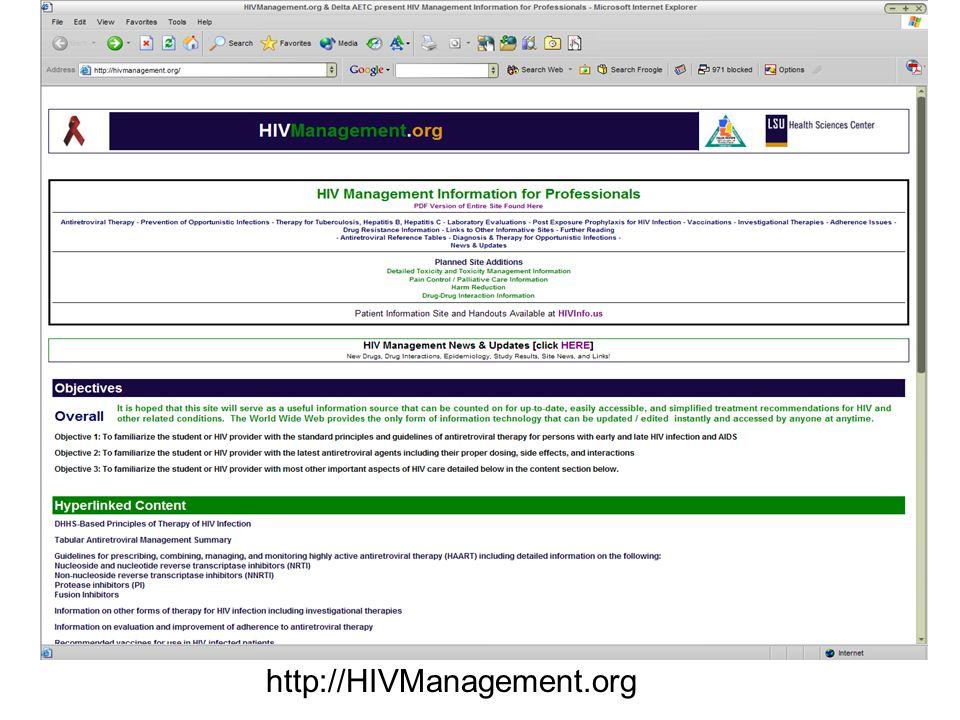 http://HIVManagement.org